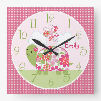 Personalizado sobre un reloj de la charca/de la to
