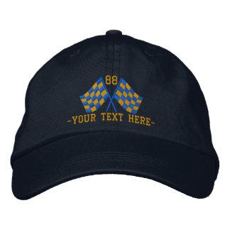 Personalizado sobrealimentado compitiendo con el gorra de béisbol bordada