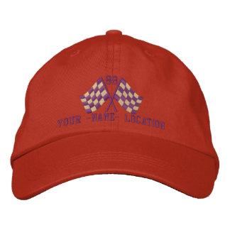 Personalizado sobrealimentado compitiendo con el gorras de béisbol bordadas