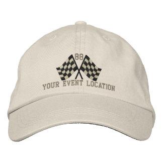 Personalizado sobrealimentado compitiendo con el gorra de béisbol