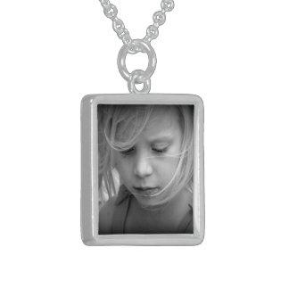 Personalizado su collar de la plata esterlina de l
