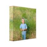 Personalizado su imagen o lona estirada foto Prin Lona Envuelta Para Galerias