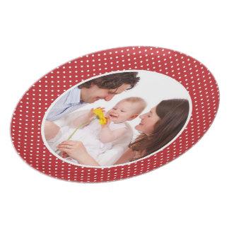 Personalizado su placa personalizada de la foto de platos