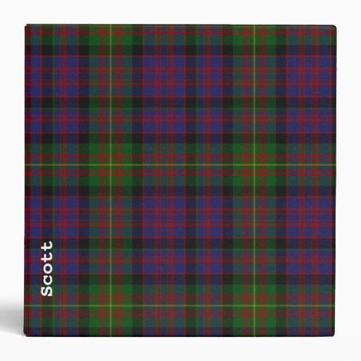 """Personalizado tradicional de la tela escocesa de carpeta 2"""""""