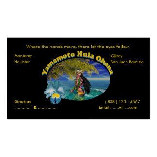 Personalizado tropical para las tarjetas de visita