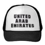 Personalizado United Arab Emirates de la capilla d Gorra