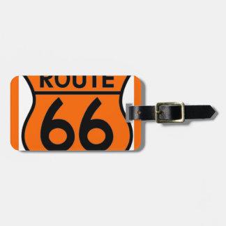 ¡personalizar anaranjado de la seguridad de la rut etiquetas bolsas