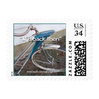personalizar antiguo del sello de la postal de la