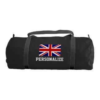 Personalizar británico del bolso el | del gimnasio bolsa de deporte