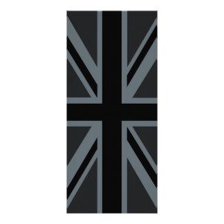 Personalizar británico negro del diseño de la plantilla de lona