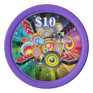 Personalizar - casino de la familia fichas de póquer