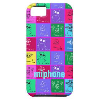 Personalizar colorido de los casos del iPhone 5 de iPhone 5 Carcasa