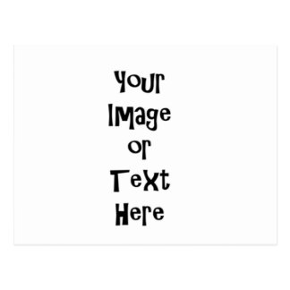 Personalizar con las imágenes y el texto postal
