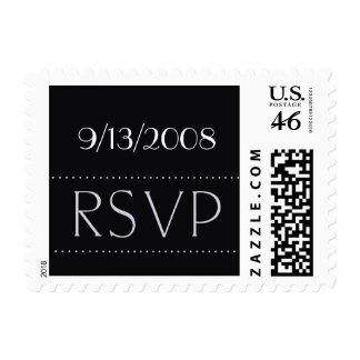 Personalizar con su fecha RSVP Sellos