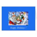 ¡Personalizar con su Felice conocido Navidad! Tarjeta De Felicitación