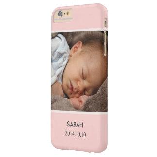Personalizar con su foto del bebé del chica - funda de iPhone 6 plus barely there
