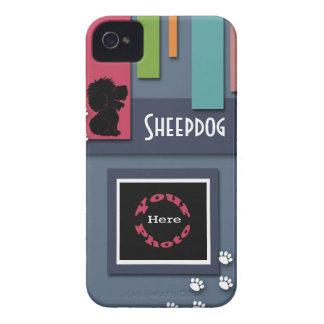 Personalizar con su foto del perro - perro pastor iPhone 4 coberturas