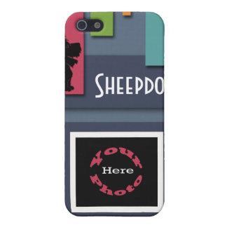 Personalizar con su foto del perro - perro pastor iPhone 5 cárcasas