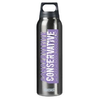 Personalizar - conservador púrpura del Grunge