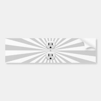 ¡Personalizar de la diversión del enchufe de pared Pegatina Para Coche