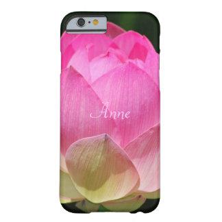 Personalizar de la flor de Lotus Funda Barely There iPhone 6