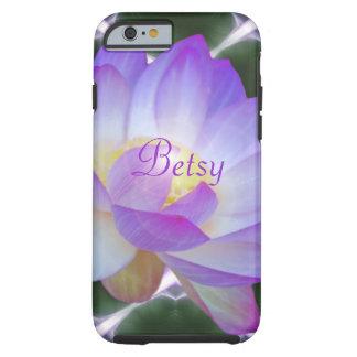Personalizar de la flor de Lotus Funda Resistente iPhone 6