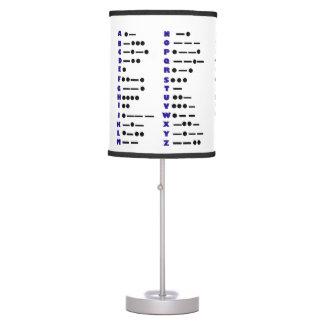 ¡Personalizar de la lámpara de mesa del código Mor