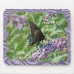 Personalizar de la mariposa de Bush de mariposa Alfombrillas De Raton