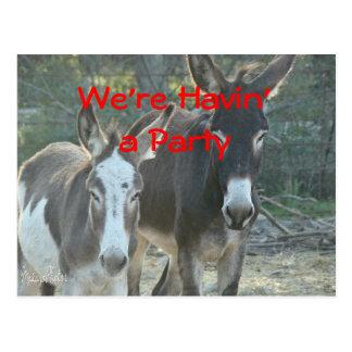 Personalizar de la postal de la mula para