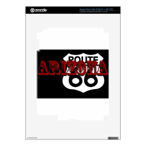 ¡Personalizar de la ruta 66 de Arizona él! Pegatina Skin Para iPad 3