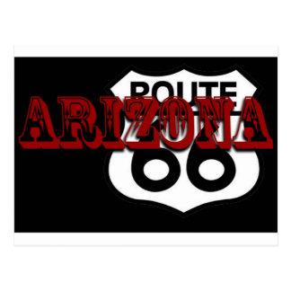 ¡Personalizar de la ruta 66 de Arizona él! Postal