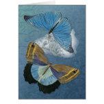 Personalizar de las mariposas en vuelo -