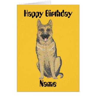 Personalizar de las tarjetas de cumpleaños del pas