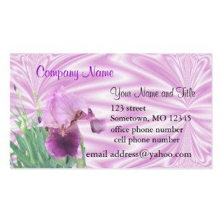 Personalizar de los negocios card2- del iris tarjetas de visita