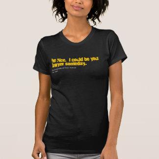 Personalizar del abogado su camisa de la escuela