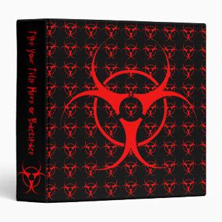 personalizar del álbum de foto del Biohazard de la