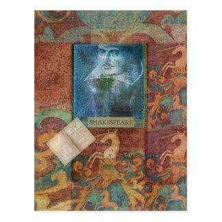 Personalizar del arte de Shakespeare con la cita Postal