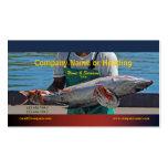 PERSONALIZAR del atún del puerto de la pesca profe Tarjeta De Visita