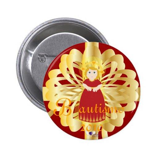 """Personalizar del botón de """"Bautismo"""" Pins"""