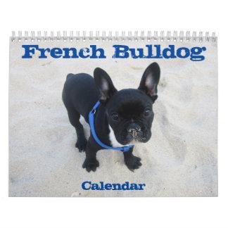 Personalizar del calendario 2017 del dogo francés