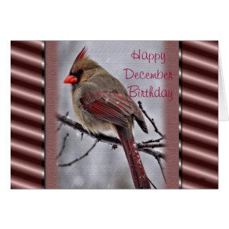 Personalizar del cardenal 9190-2 para cualquier oc tarjeta de felicitación