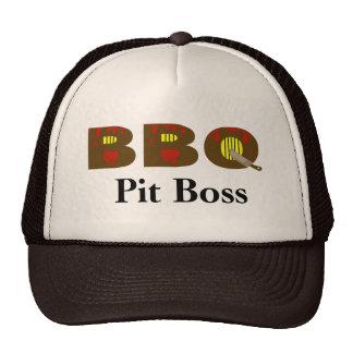 ¿Personalizar del casquillo de Boss de hoyo del Gorras De Camionero
