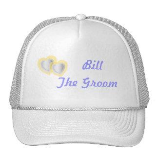 Personalizar del casquillo del banquete de boda -  gorras
