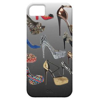 Personalizar del collage de los tacones altos del iPhone 5 fundas