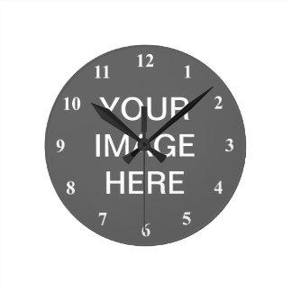 Personalizar del diseño el | del reloj del número