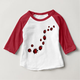 Personalizar del jersey del bebé de la mariquita