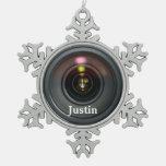 ¡Personalizar del ornamento de la lente de cámara