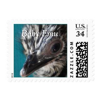 Personalizar del sello del Emu del bebé