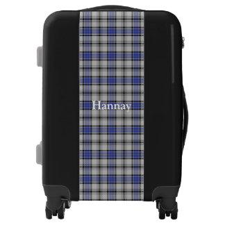 Personalizar del tartán de Hannay del clan su Maletas