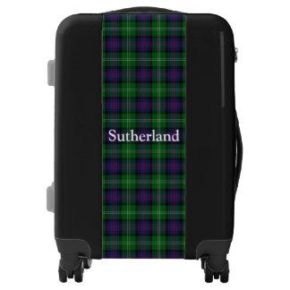 Personalizar del tartán de Sutherland del clan su Maletas